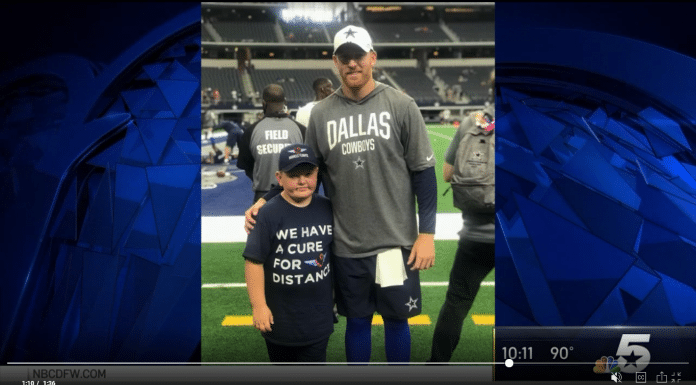 dallas cowboys cooper rush with gavin miller kid