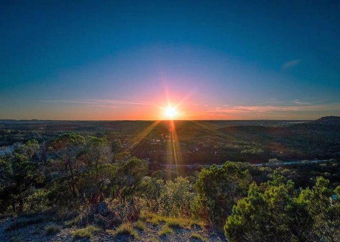 view from mount edith wimberley texas