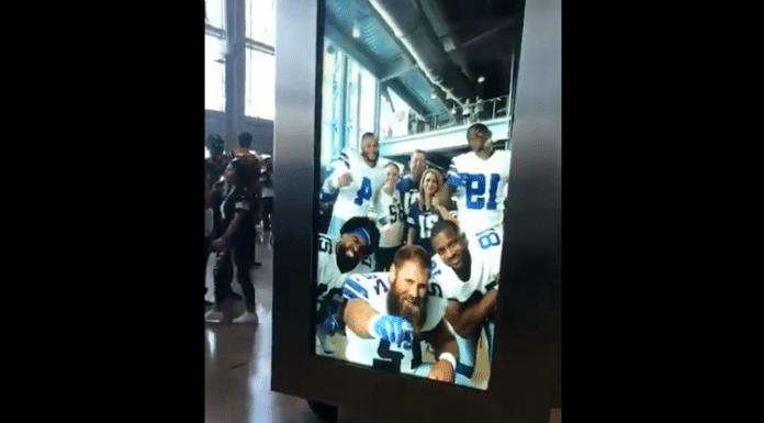 dallas cowboys ar photobooth