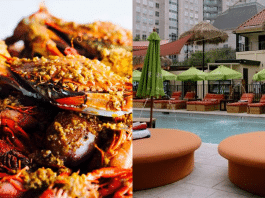 crab house dallas bali beach pool