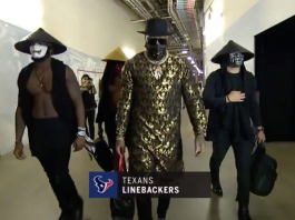 houston texans linebackers mortal kombat cosplay