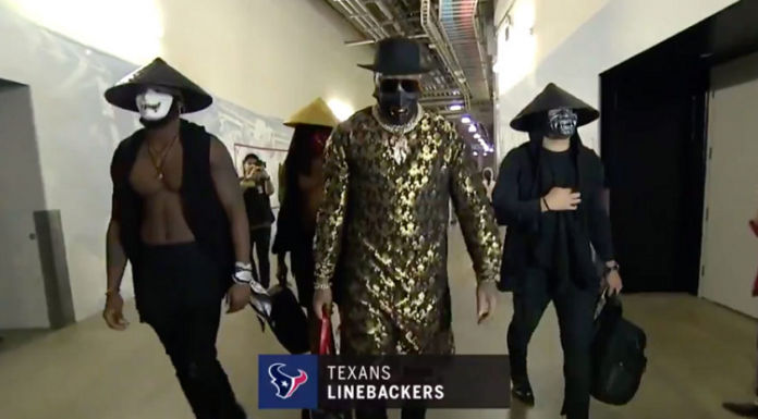houston texans linebackers mortal kombat cosplay