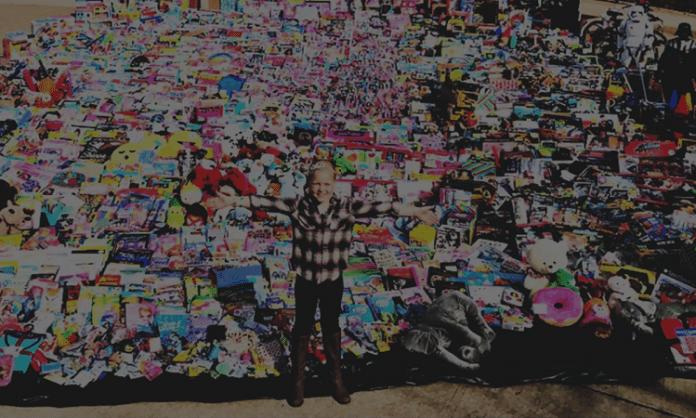 sadie keller sadie's sleigh donated toys