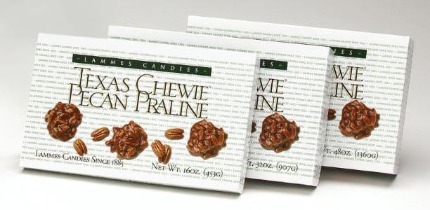 Lammes Cadies Texas Chewie Pecan Praline
