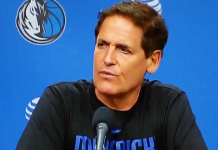 mark cuban speaks at the nba press conference following the nba shutdown march 11th 2020