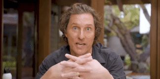 matthew mcconaughey video coronavirus