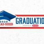 h-e-b texas-sized graduation event graphic