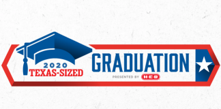 h-e-b texas-sized graduation event graphic