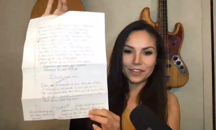 michelle rodriguez reads joe exotic's letter from prison