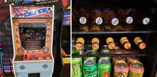 diesel barbershop dallas donkey kong and free beer selection