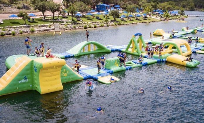 waterloo water park lake travis