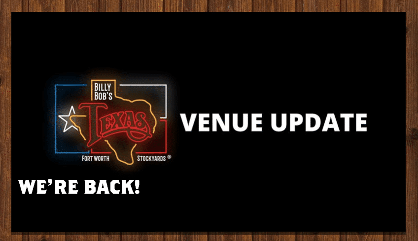 billy bobs reopening announcement as restaurant