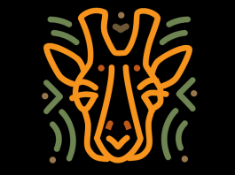 dallas zoo giraffe logo