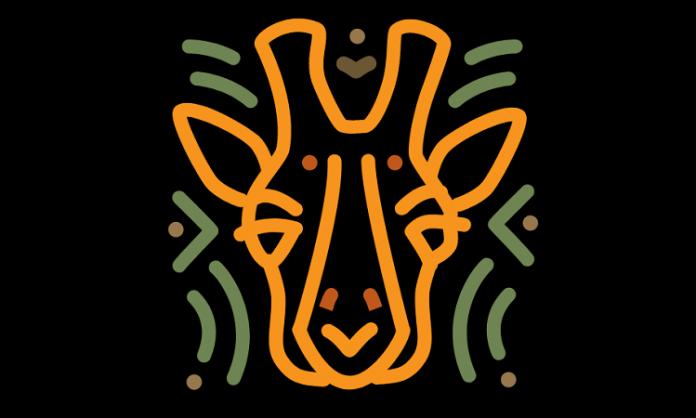 dallas zoo giraffe logo