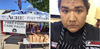 kevin martinez free food care package pandemic program in fort worth