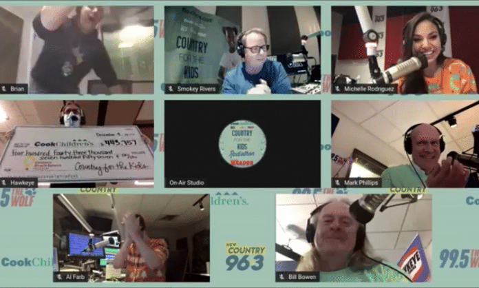 texas radio hosts raise money for cooks childrens medical center