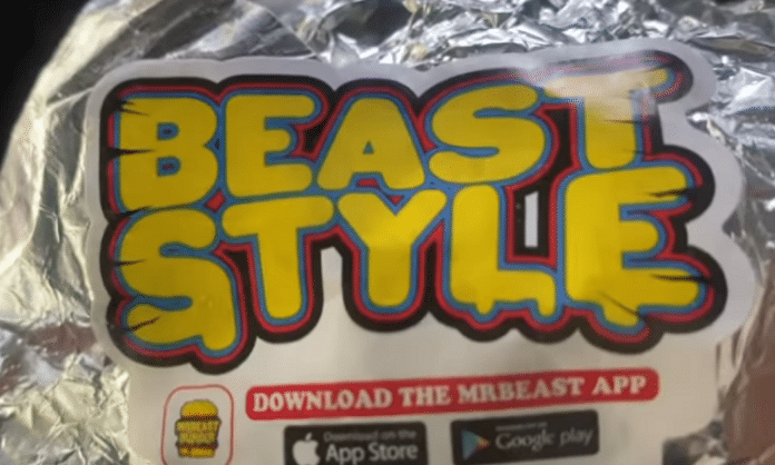 beast style burger photo