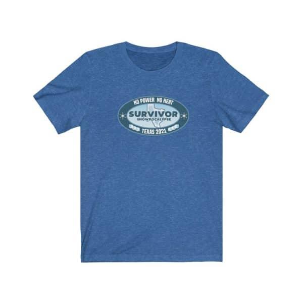 texas snowpocalypse 2021 survivor t-shirt