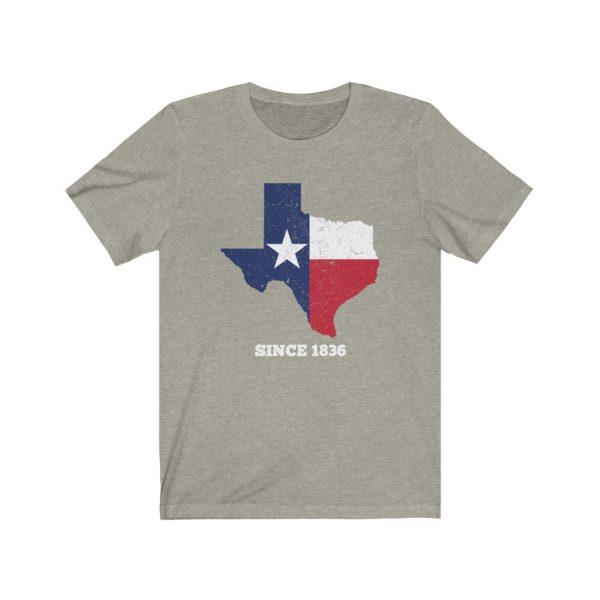 texas since 1836 t-shirt