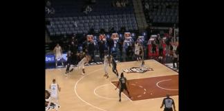 luka doncic 3-point floater game winning shot screenshot video