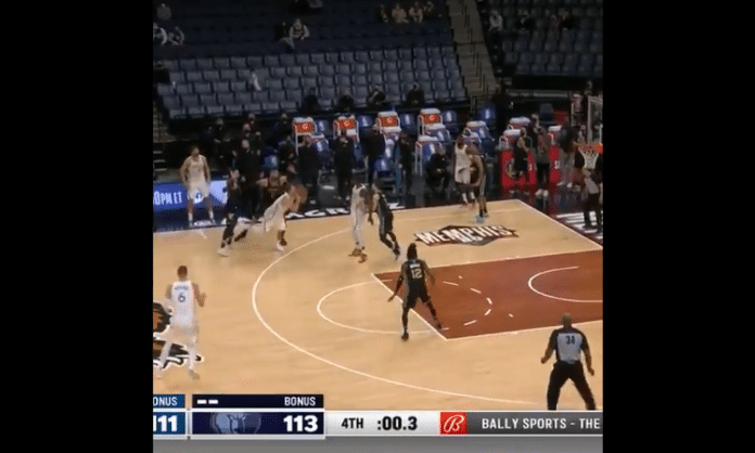 luka doncic 3-point floater game winning shot screenshot video