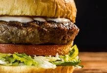 becks prime burger closeup