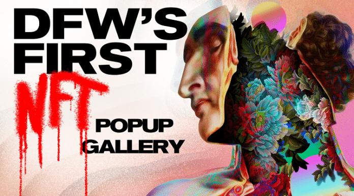 artist uprising nft art gallery popup event in dallas