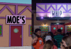 moe's tavern from the simpsons compared to the whippersnapper moe's tavern
