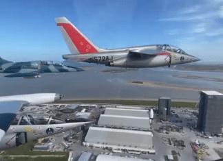 fighter jets over starbase texas elon musk