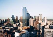 dallas skyline buildings business