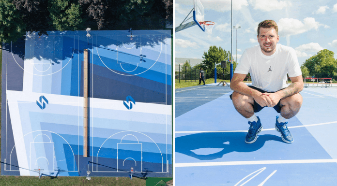 luka doncic basketball courts in slovenia