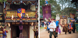 Texas renaissance festival collage featured photo 2021